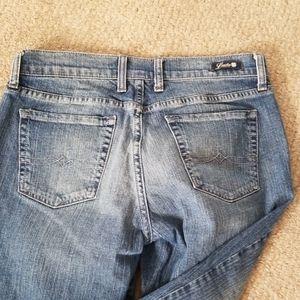 Lucky Brand Jeans - Lucky Brand Classic Rider Crop Denim 8/29